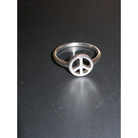 """Bague """"Peace and Love"""""""